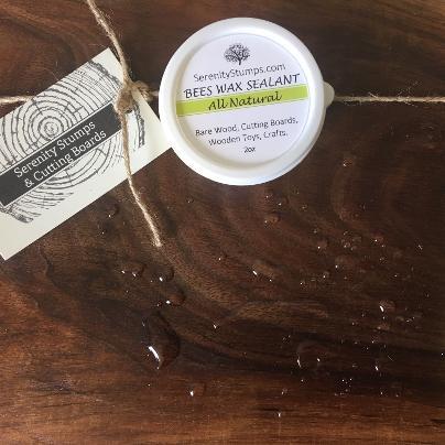 Bees Wax Sealant, Wood Furniture Protection, Natural Wood