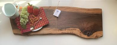 Personalized Cheese Board Custom Paddle Board Personalized Cutting Board Custom cutting board --CB-PAD-MANCUSSO Custom Cheese Board